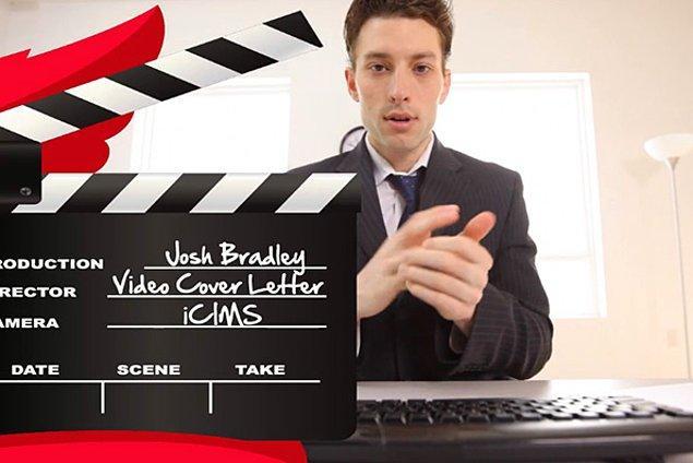 6. Videolu özgeçmiş yollamak.