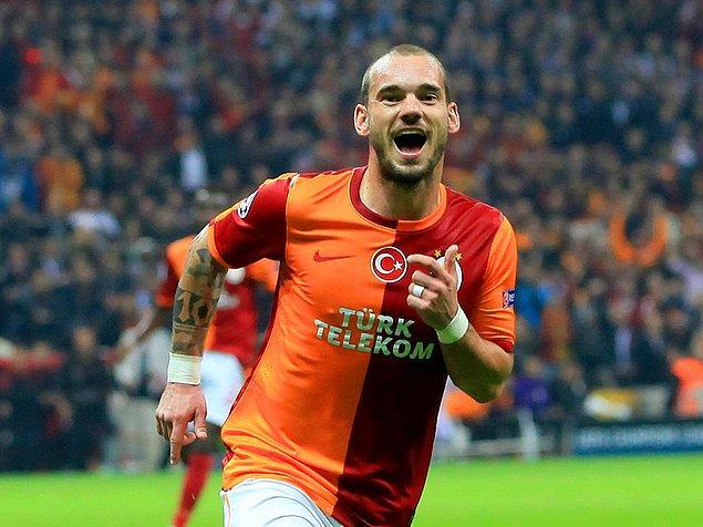 5. Wesley Sneijder