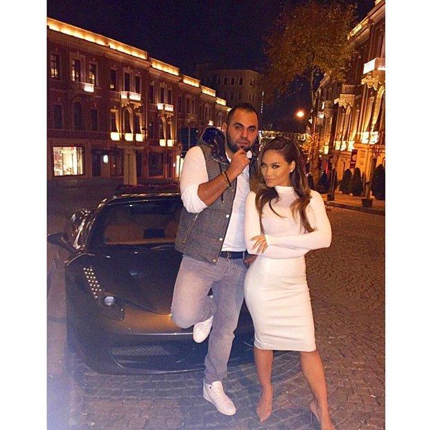 5. 50 Cent'in eşi Daphne Joy.