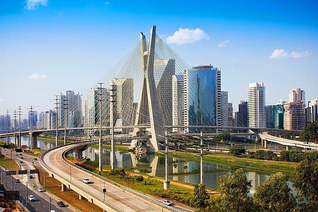 11. Brezilya dünyanın en büyük 7. ekonomisine sahip. Doğal olarak bu imajını böyle bir manzarayla korumak zorunda.