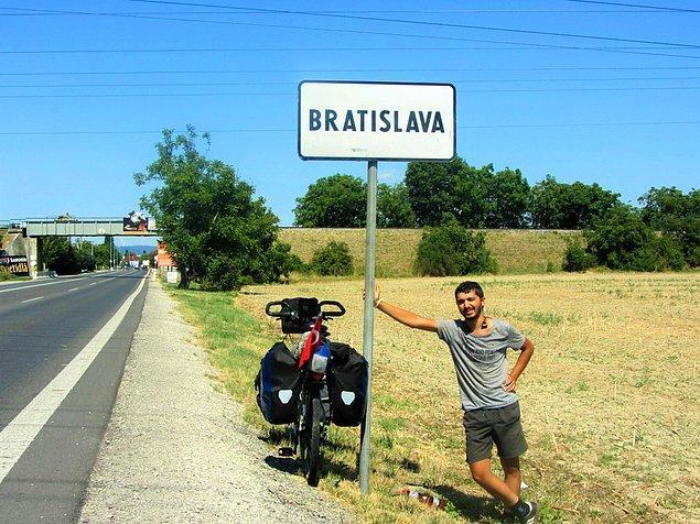 6. Slovakya - Başkent Bratislava
