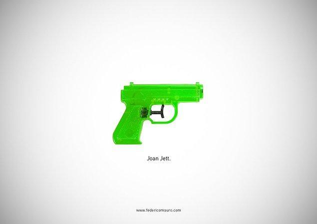 30. The Runaways - Joan Jett