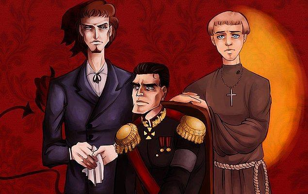 Üç kardeş ve bir baba