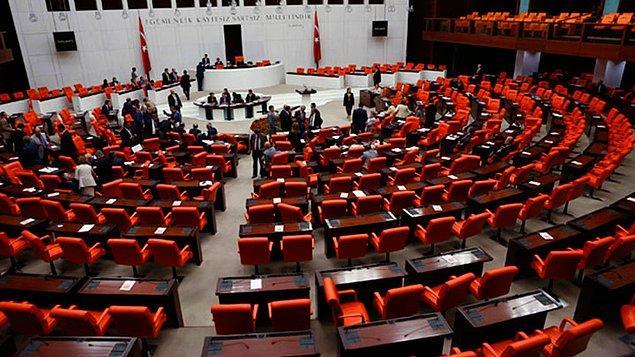 'Meclis odasında toplantı'