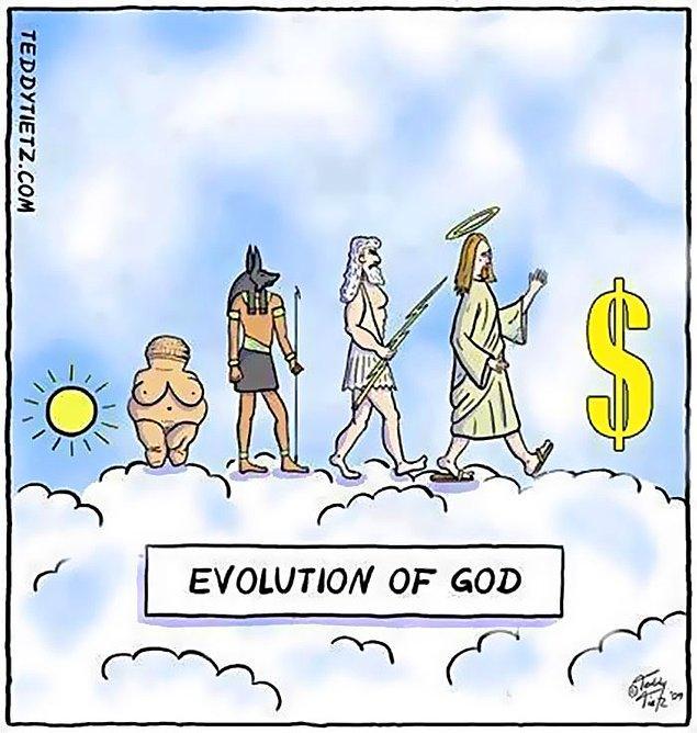 10. Tanrıların evrimi
