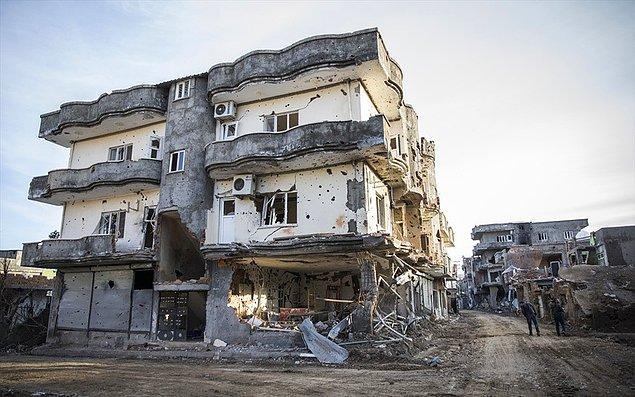 Operasyonlar sonrası Cizre'den fotoğraflar