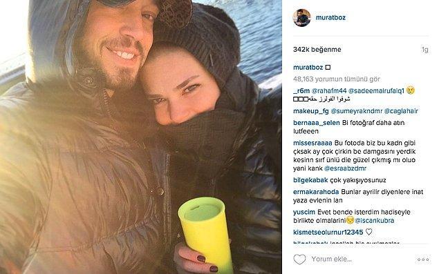 Ta ki, hem Boz hem de Enver Instagram hesaplarından bu tatlı fotoğrafı paylaşana kadar!