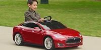 Tesla Şimdi de Oyuncak Sektöründe: Bu Oyuncak Araba Diğerlerinden Biraz Farklı