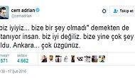 Ankara Saldırısı Sonrası Milyonların Duygularına Tercüman Olan 21 Tweet