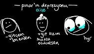 25 Çizimde Kendinizi Bulacağınız İnternetin En Komik Bunalım Hali: Pınar'ın Depresyonu
