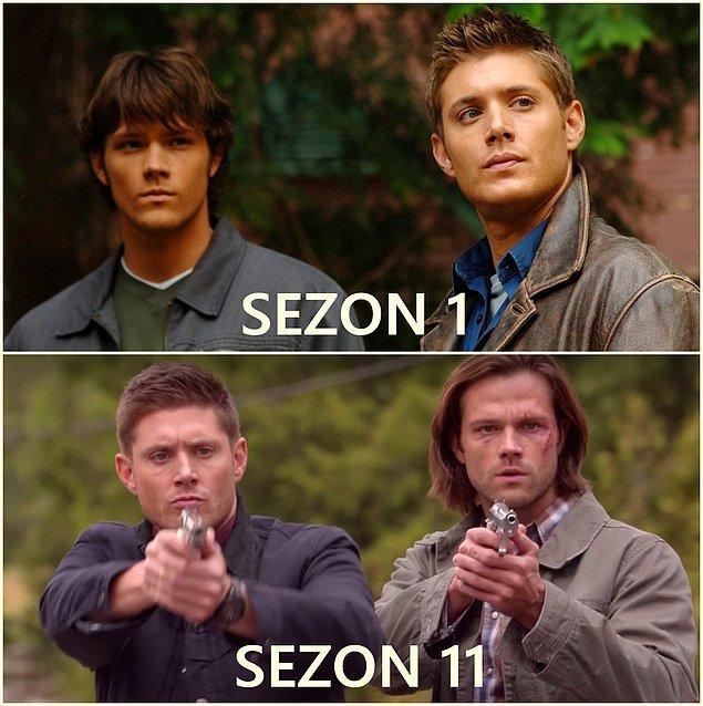 16. Sam Winchester (Jared Padalecki) / Dean Winchester (Jensen Ackles)