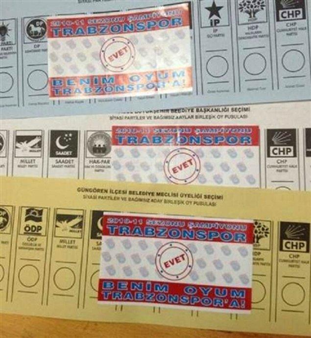 3. Trabzonspor kentin hem takımı hem de siyasi görüşüdür.