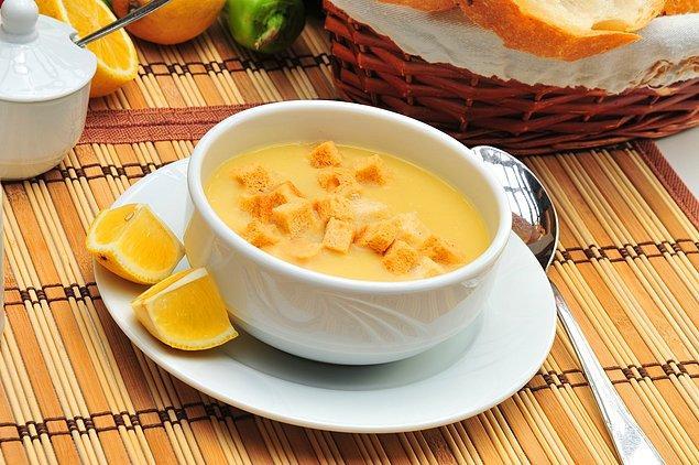 14. Mercimeğin yemeğini falan geçin; çorbası olmazsa olmazdır!