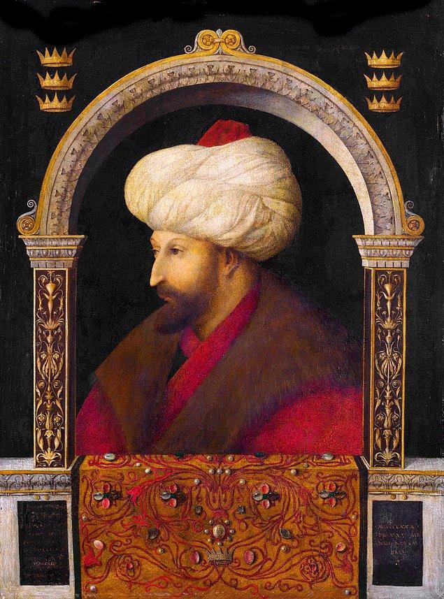5. İstanbul'a gelerek Fatih Sultan Mehmet'in portresini yapan ünlü İtalyan ressam kimdir?