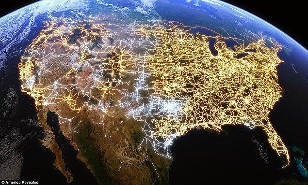 Электросеть США