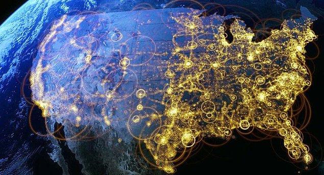 Визуализация интернет соединений
