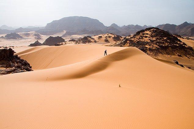 20. Sahra Çölü'nü keşfedin.