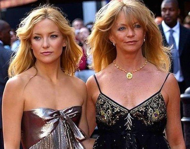 9. Kate Hudson ve Goldie Hawn
