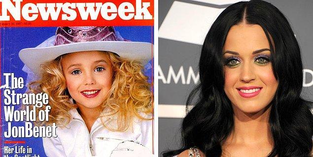 Ve şimdi de yabancı basının tüm hafta boyunca tartıştığı konuya gelelim: Katy Perry, aslında JonBenet mi?