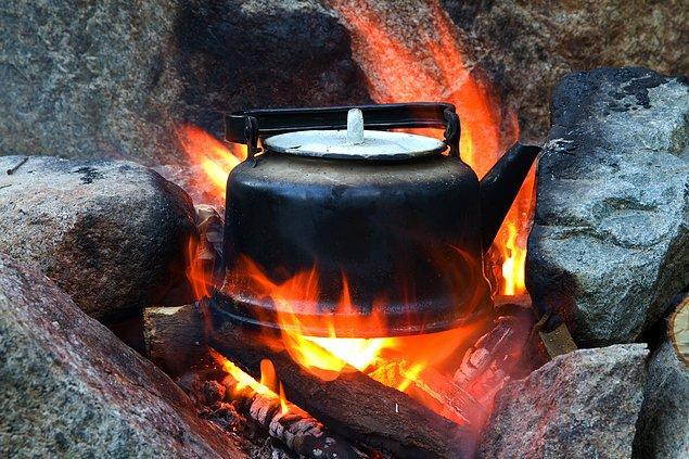 6. Sıcak içecekler tüketin