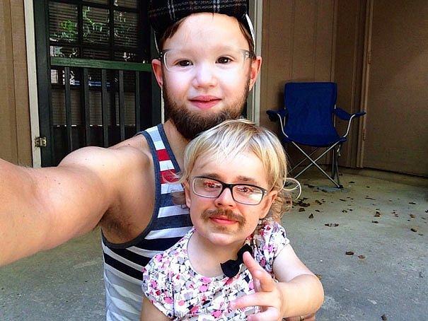 15 юморных фото из приложения для замены лиц