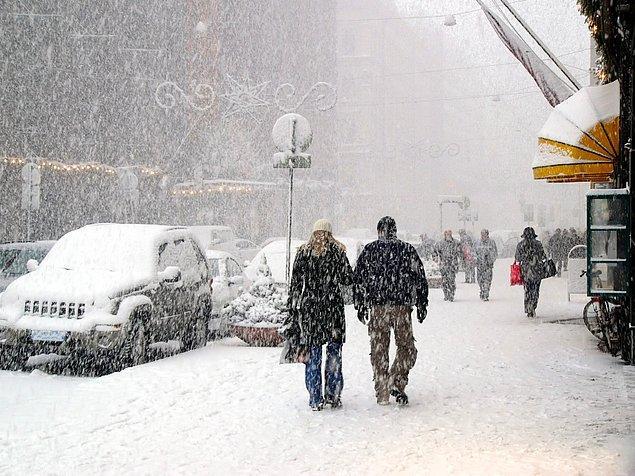 Kanada'da bugüne kadar kaydedilmiş en düşük sıcaklık 1947 yılındaki -63 derecedir.