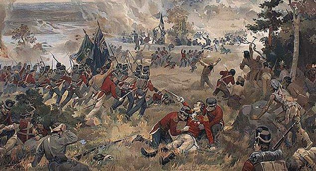 Amerikalılar 1775 ve 1812 yıllarında Kanada'yı iki defa işgal etmeye çalışmış ikisinde de yenilmiştir.