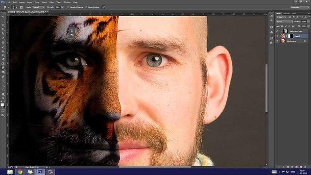 2. Adobe Photoshop'ta bildiklerimizin çok üzerine çıkıyoruz: