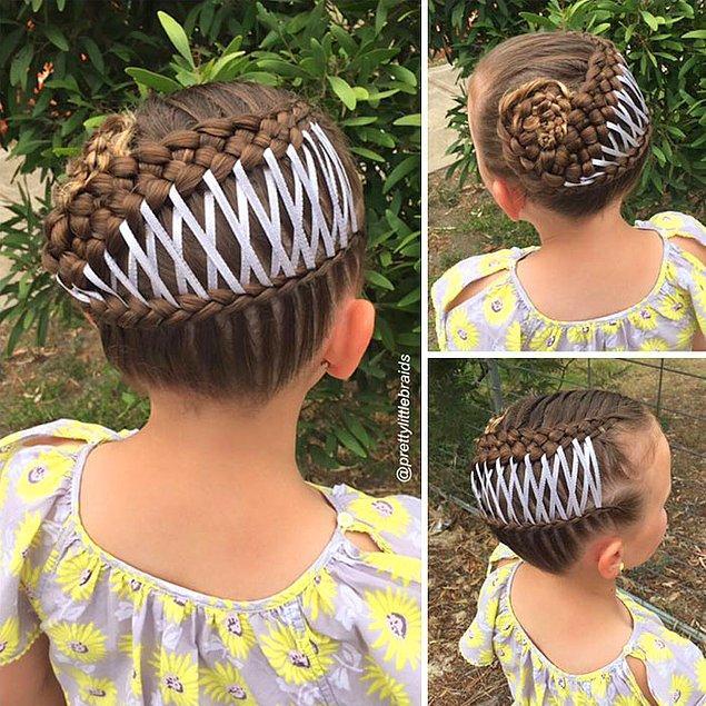 Заботливая мама каждый день создает новый шедевр на голове у дочери
