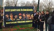 Gezi Ailelerinden Gezi Parkı'nda Anma