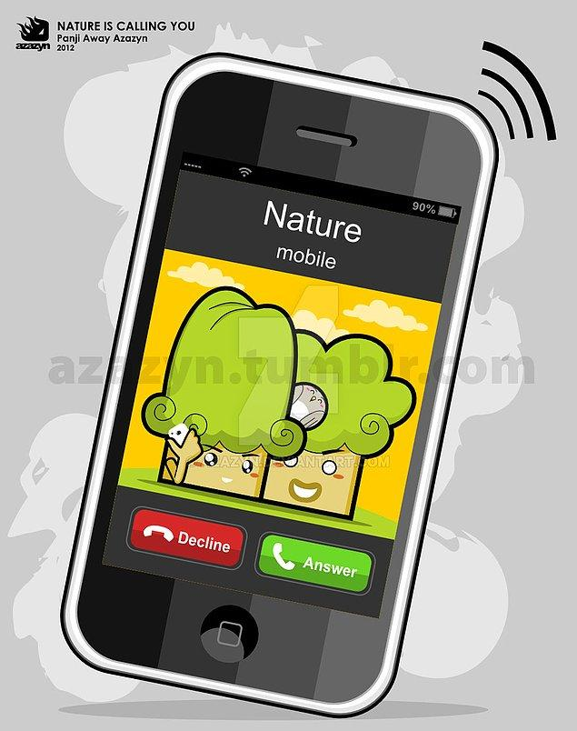 Nature is Calling Me