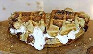 Bildiğiniz Bütün Waffle'ları Unutun! Karşınızda 3 Adımda S'mores Waffle Tarifi