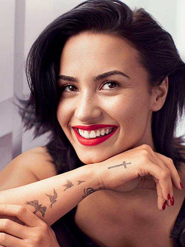 3. Demi Lovato