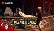 Türkiye'de Mezarlık Şakası Çekerken Ölümden Dönmek