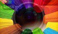 Instagram'ın Renkli Paylaşımları: Renkli Kalem Çalışmaları