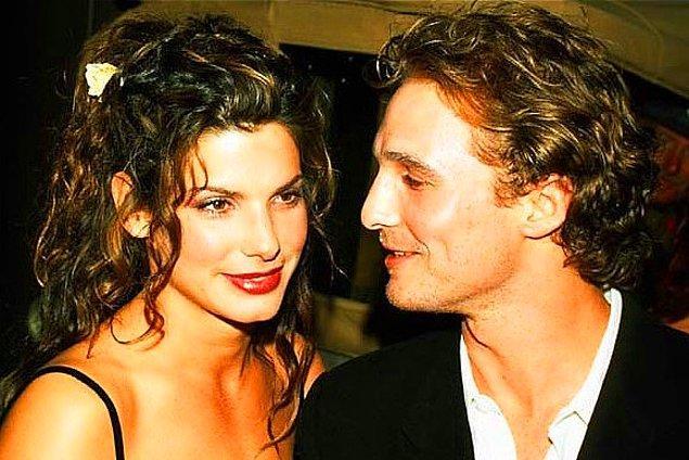 12. Sandra Bullock ve Matthew McConaughey, 1997