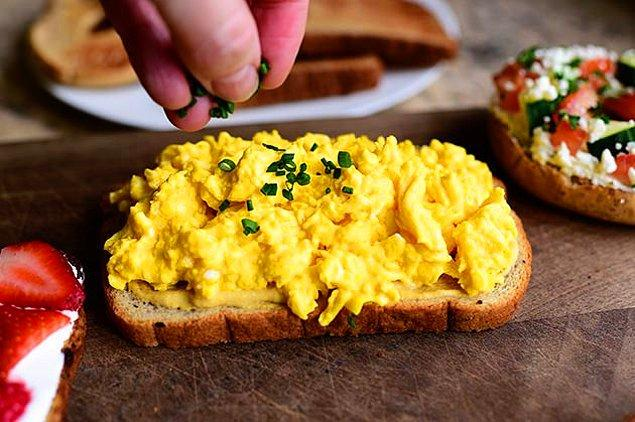 6. Yumurtanın Tost Hali