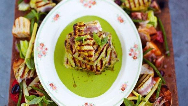 10. Izgara Ton Balıklı Nisuaz Salatası
