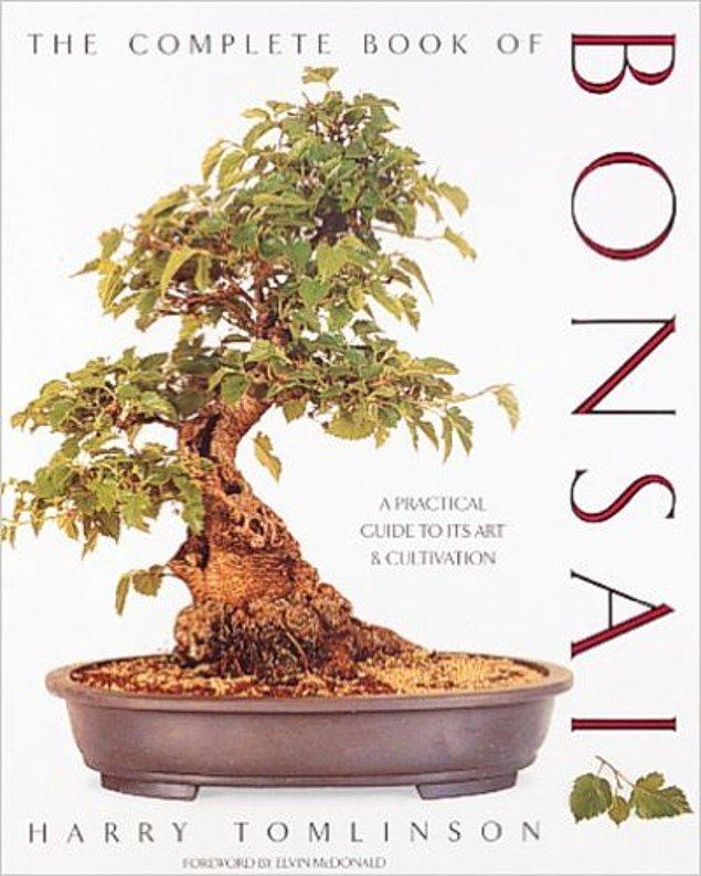 5. Bonsai hakkında her şey kitabı.