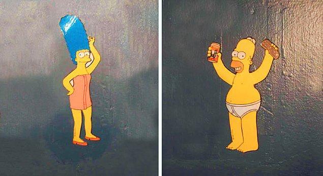 20. Simpsonlar her yerde.