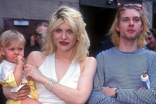 Frances 2 yaşındayken, Kurt Cobain intihar etmişti.