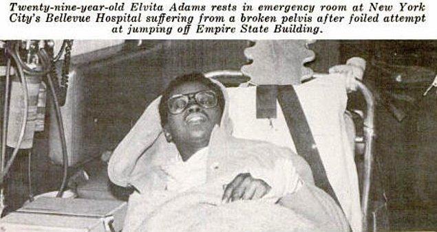 7. 1979 yılında Elvita Adams Empire State binasının 86. katından atlayarak intihar etmek istemiş, atladığı anda rüzgar çıkmış ve onu 85. kata atmıştır.