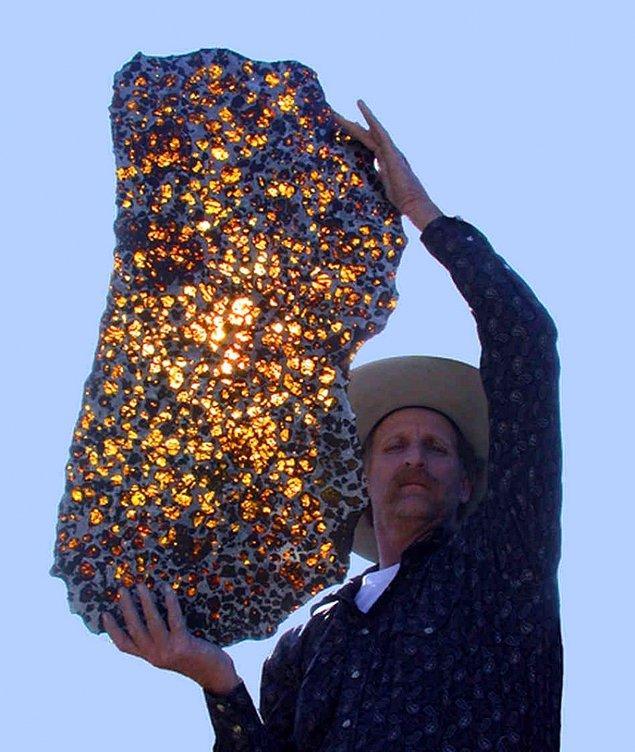 17. Evrenden Dünya'ya gönderilen değerli bir hediye: Fukang meteoru.