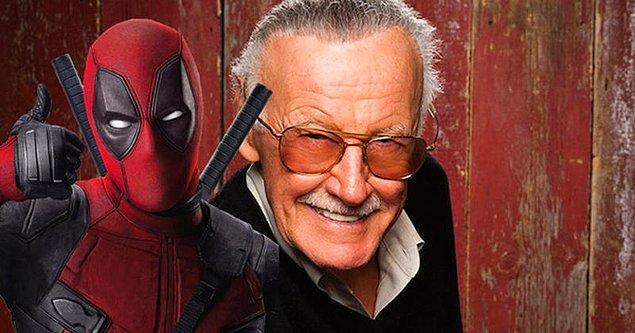 14. Marvel filmlerinde Stan Lee biraz olsun görünür. Deadpool'da da striptiz kulübünde DJ'lik yaparken gözlerden kaçmadı.