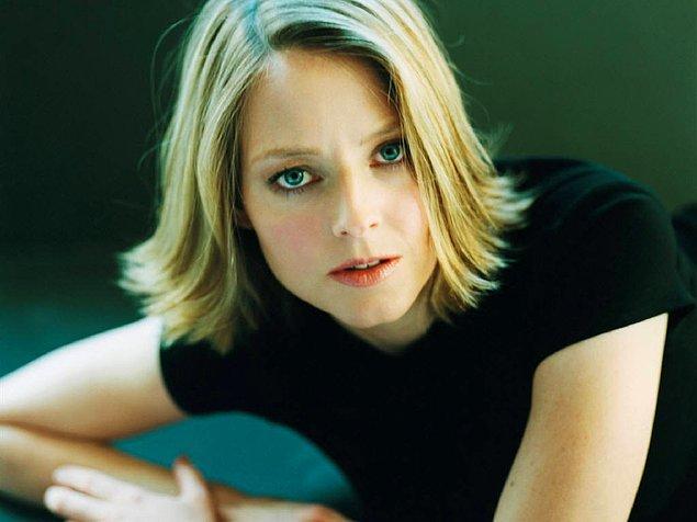 14. Ünlü aktris Jodie Foster bir başka örnek.