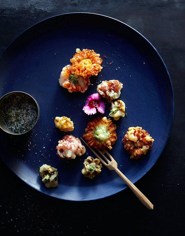 10. Karışık Çiçek Kızartması