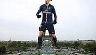 Ibrahimovic: 'PSG'de Kalmam İçin Eyfel Yerine Benim Heykelimi Dikmeliler'