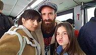 Meireles Terör Dinlemedi, Ailesiyle Birlikte Metrobüse Bindi