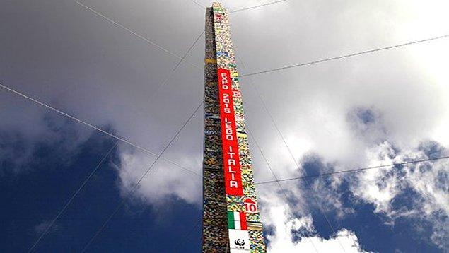 17. Dünyanın en yüksek Lego kulesi, 2015 yılında İtalya'nın Milano şehrinde inşa edildi.