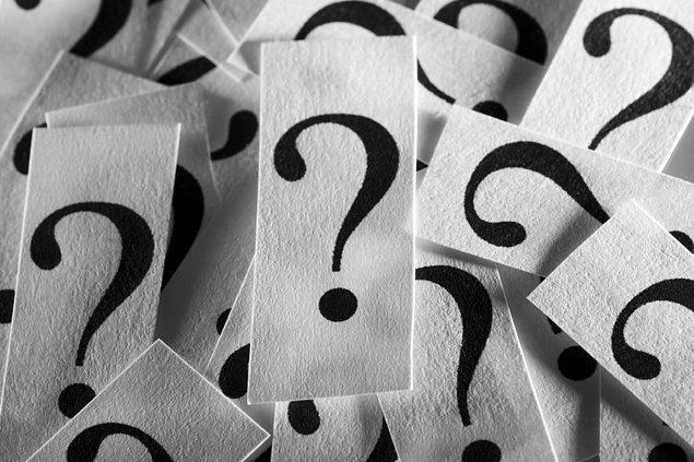 5. Verilen her yeni görevde en az 20 soru sormak